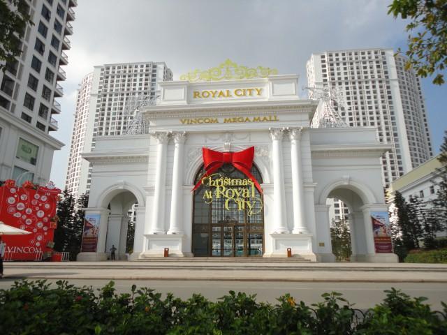 Trung tâm thương mại và chung cư cao cấp Royal City