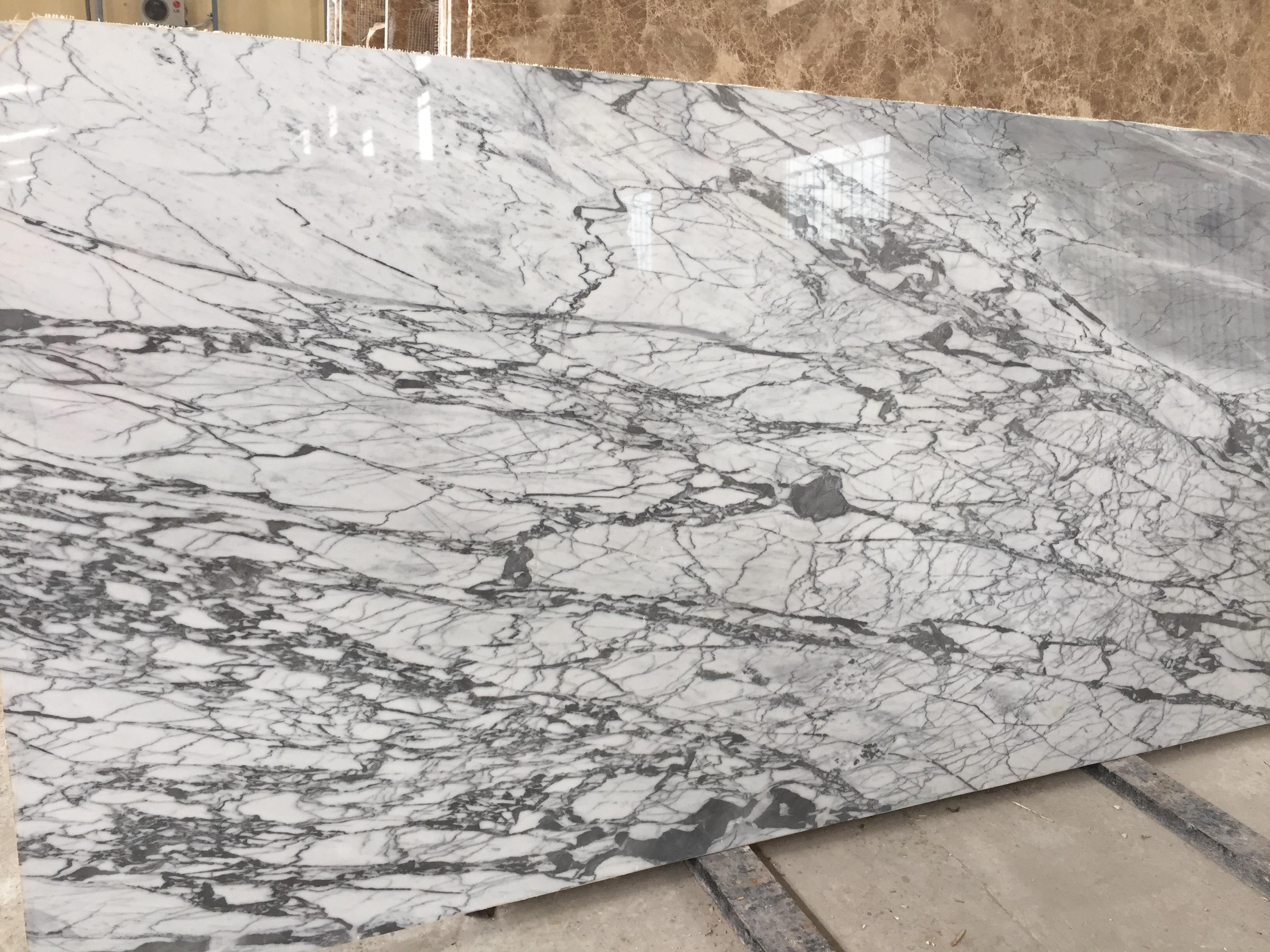 White Carara Marble