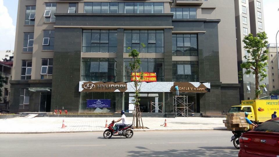 Công trình hỗn hợp chung cư và văn phòng E4.